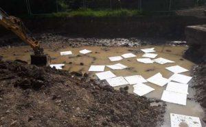 oil spill response equipment oil absorbent pads